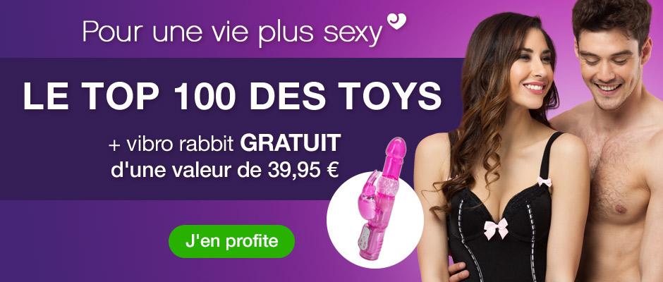 Promo sex toys + vibro GRATUIT