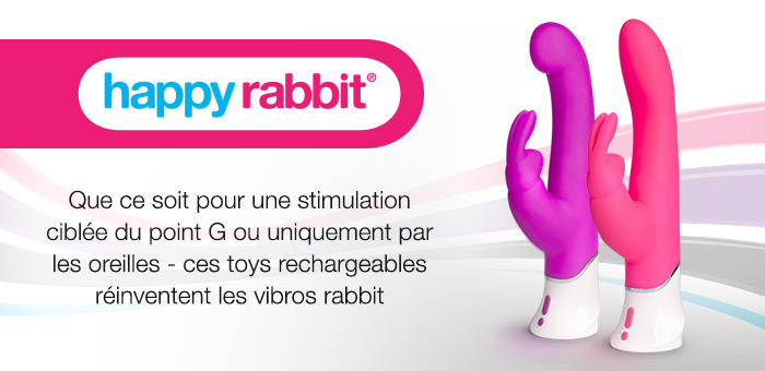 Vibromasseurs rabbit Happy Rabbit