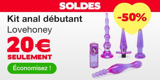 ^ SOLDES Kit anal débutant Lovehoney