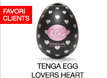 ^ Tenga Egg Lovers Heart Brand Page fr
