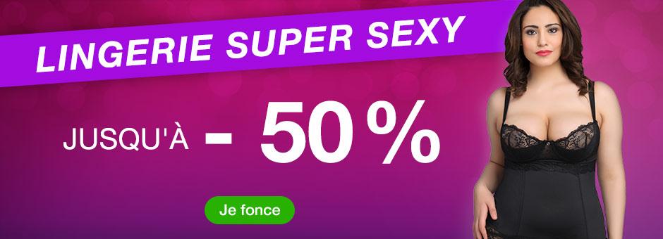 Super sexy Dessous - bis zu 50% Rabatt