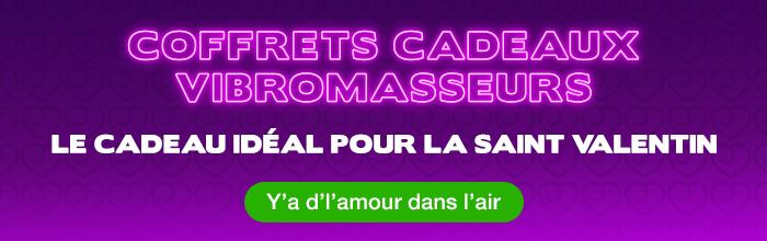 ^ Coffrets cadeaux vibromasseurs pour la Saint Valentin