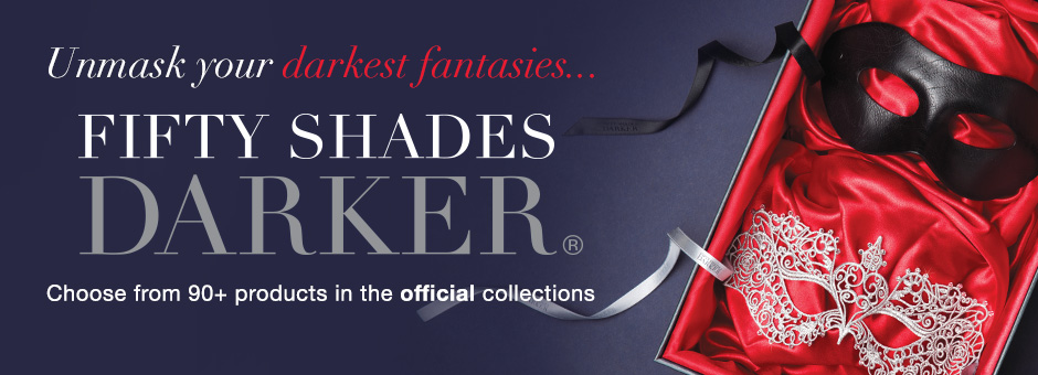 Unmask your darkest fantasies with Fifty Shades Darker...