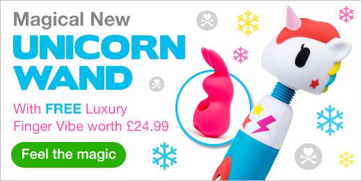 Unicorn Magic Wand with a FREE gift worth £24.99