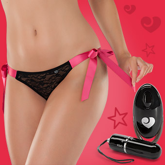 Hot Date Remote Control Vibrating Knickers