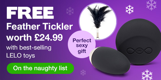 ^ FREE Feather Tickler with best-selling LELO toys