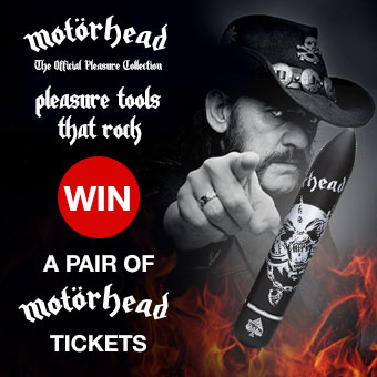 Motörhead Official Pleasure Collection UK Tour Ticket Competition