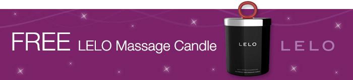 FREE LELO Massage Candle with LELO Smart Wands
