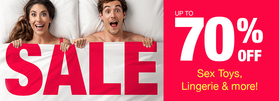 Save up to 70% - Lovehoney SALE!