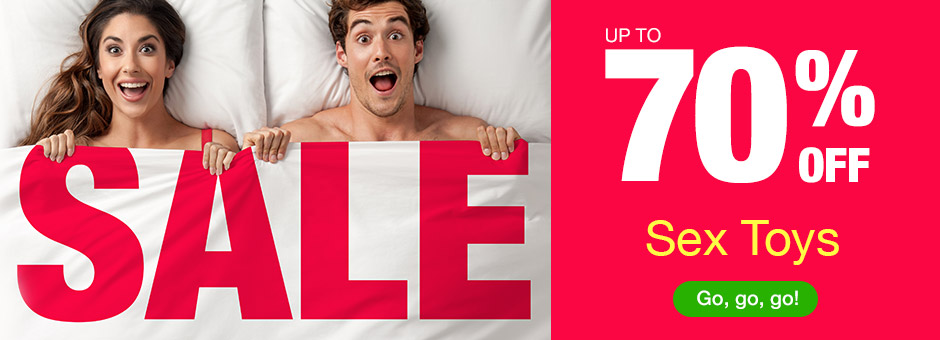 SALE up to 70% OFF Sex Toys
