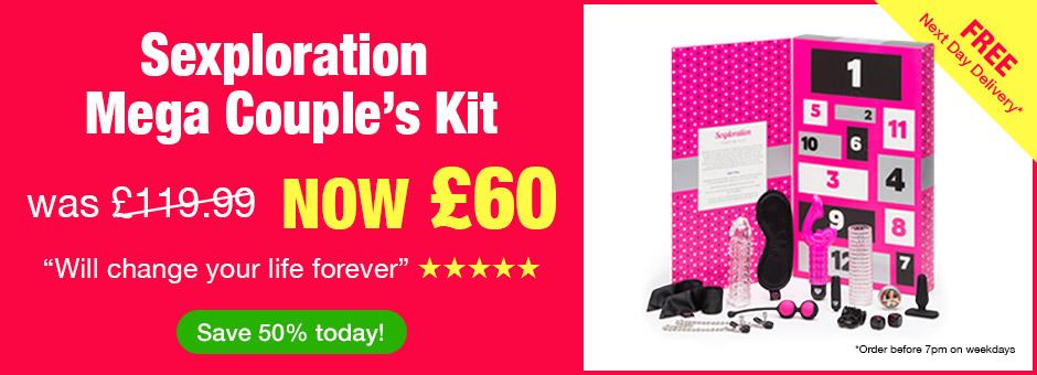 Sexploration Mega Couple's Kit - was £199.99 NOW £60