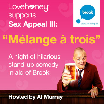 Lovehoney supports Sex Appeal III in aid of Brook.