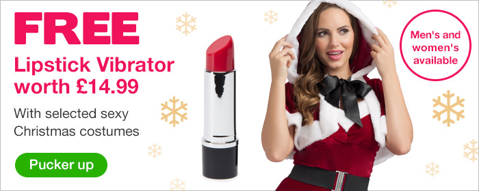 FREE Lipstick Vibrator worth @pound;14.99