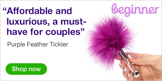 ^ Purple Feather Tickler