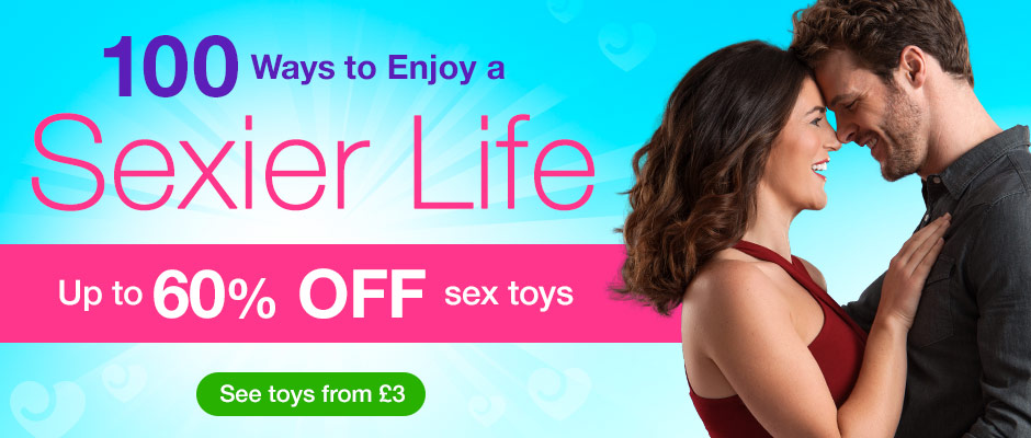 Up to 60% off sex toys - live a Sexier Life!