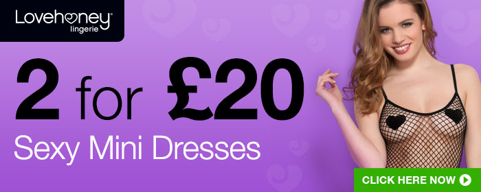 2 for £20 Sexy Mini Dresses