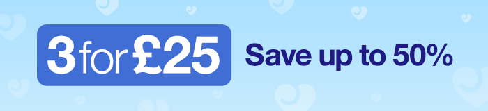 3 for 25 - Save up to 50%