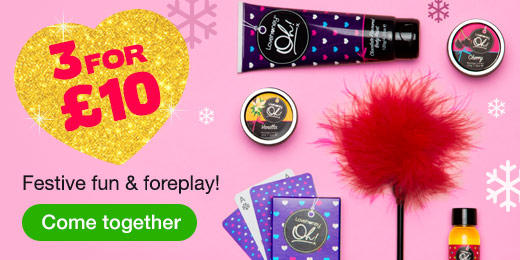 ^3 for 10 Festive Fun and Foreplay