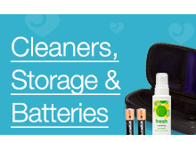 Cleaners, Storage and Batteries Category