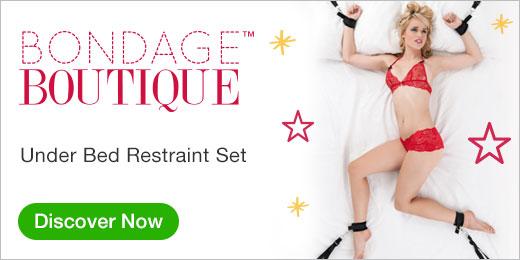 ^ Bondage Boutique Under Bed Restraint Set
