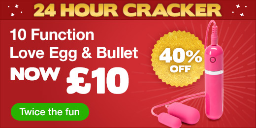 10 Function Love Egg and Bullet Vibrator now £10