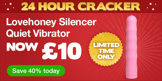 Lovehoney Silencer Quiet Vibrator now £10