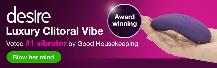 Lovehoney desire Luxury Clitoral Vibrator - Voted #1 vibrator by Good Housekeeping