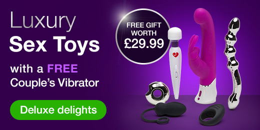 Luxury Sex Toys with a FREE couple's vibrator