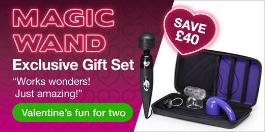 ^ Magic Wand Exclusive Gift Set