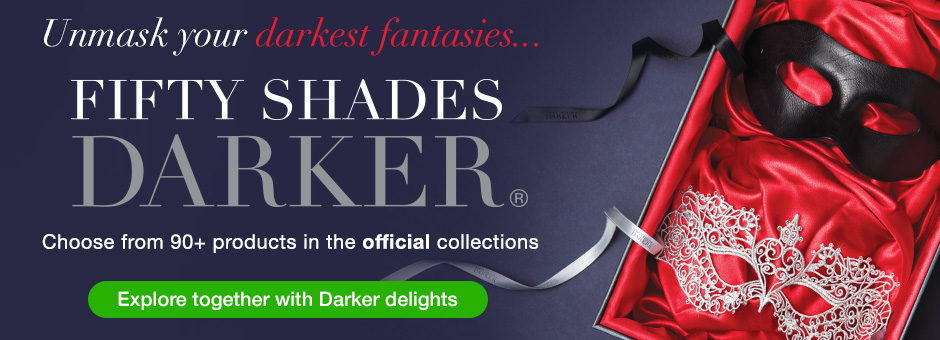 Unmask Your Darkest Fantasies with Fifty Shades Darker Official Pleasure Collections