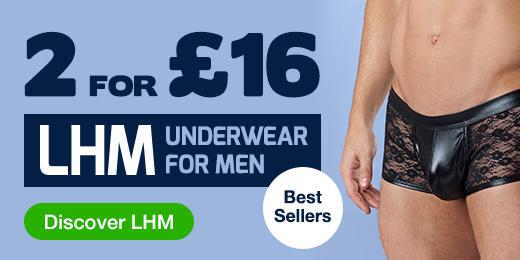 2 for @pound;16 LHM Underwear for Men