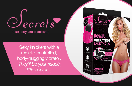 Secrets - Fun, flirty and seductive