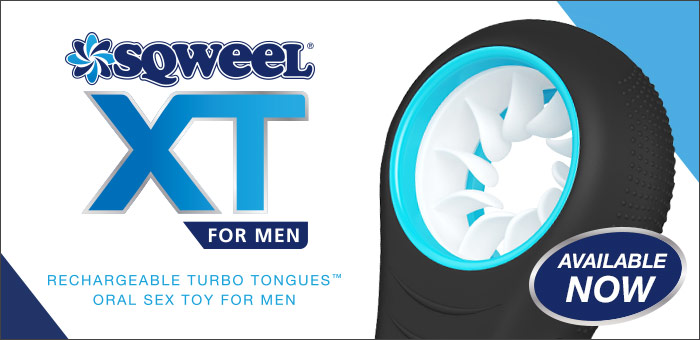 Sqweel XT oral sex toy for men