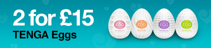 2 for 15 TENGA Eggs