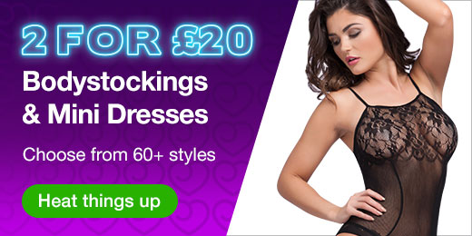 2 for @pound;20 Bodystockings and Mini Dresses