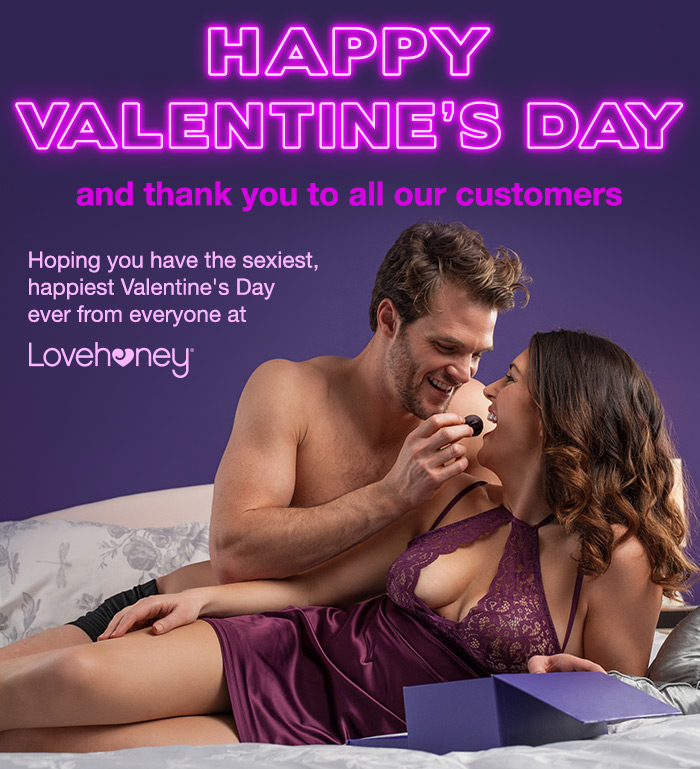 Happy Valentine's Day and thank you to all of our customers