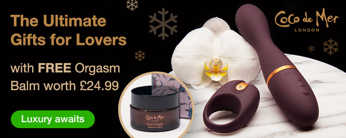 ^ Coco de Mer Luxury Sex Toys with FREE Orgasm Balm worth 24.99 - The Ultimate Gift for Lovers