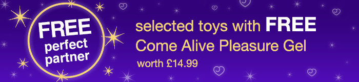 with FREE Come Alive Pleasure Gel
