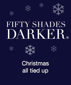 Get Christmas all tied up with Fifty Shades Darker