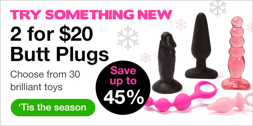US 2 for $20 Butt Plugs Hero