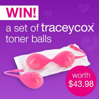 Win a set of Tracey Cox toner balls