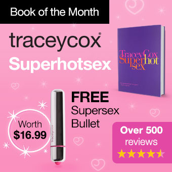 Tracey Cox Superhotsex with FREE Supersex Bullet