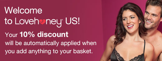 Welcome to Lovehoney US! Your 10% discount will be automatically applied