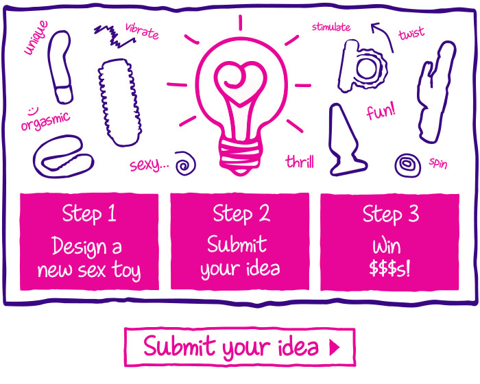 Design a Sex Toy - Submit Your Idea $