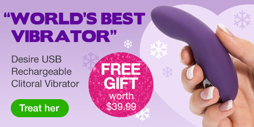 ^ Clitoral Vibrator with Free Gift for Christmas Hero
