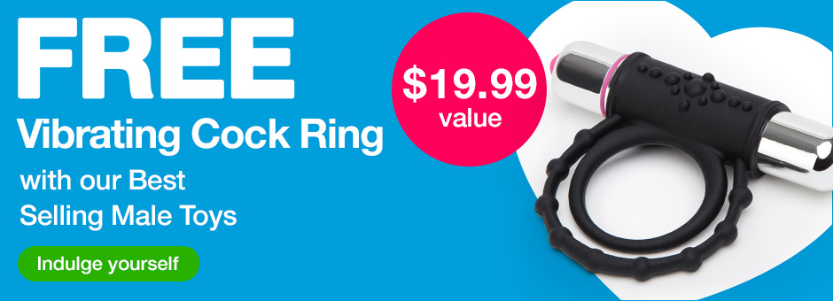 Free Vibrating Cock Ring with Best Selling Male Toys US