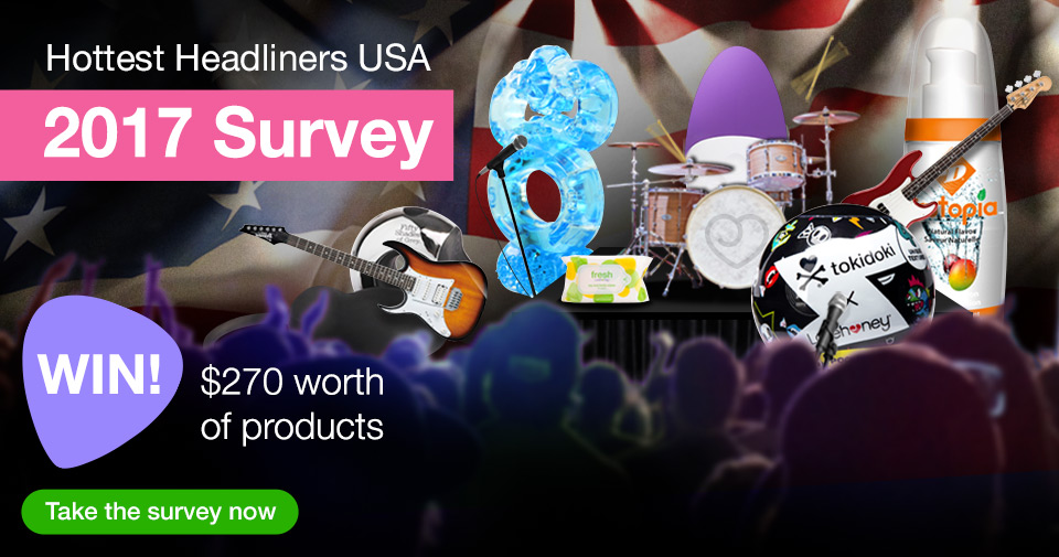 Hottest Headliners Survey - WIN $270 worth of products!