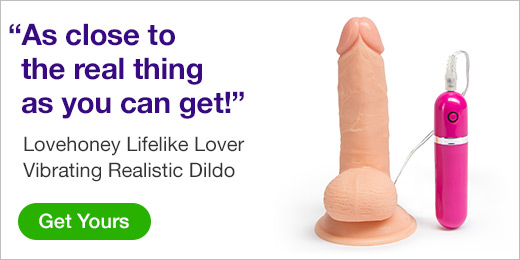 ^ Lovehoney Lifelike Love Vibrating Realistic Dildo
