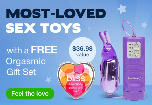 Most Loved Sex Toys with Orgasmic Gift Set US