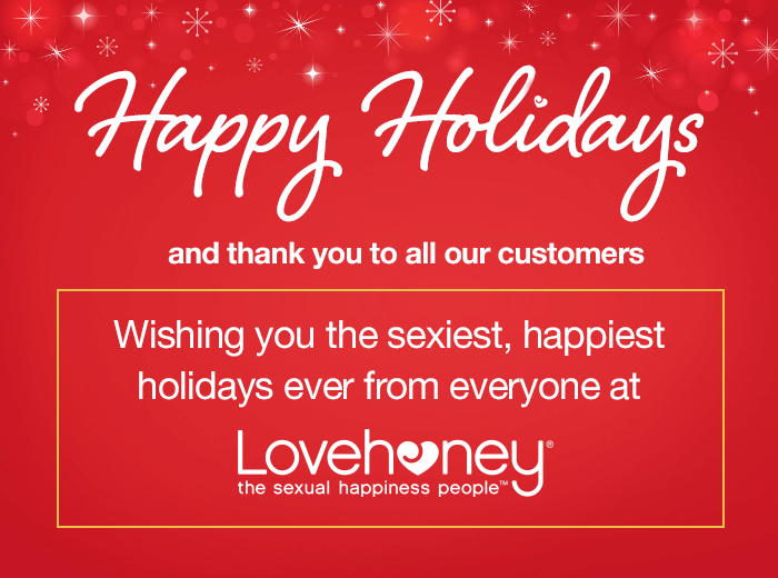 Happy Holidays from Lovehoney